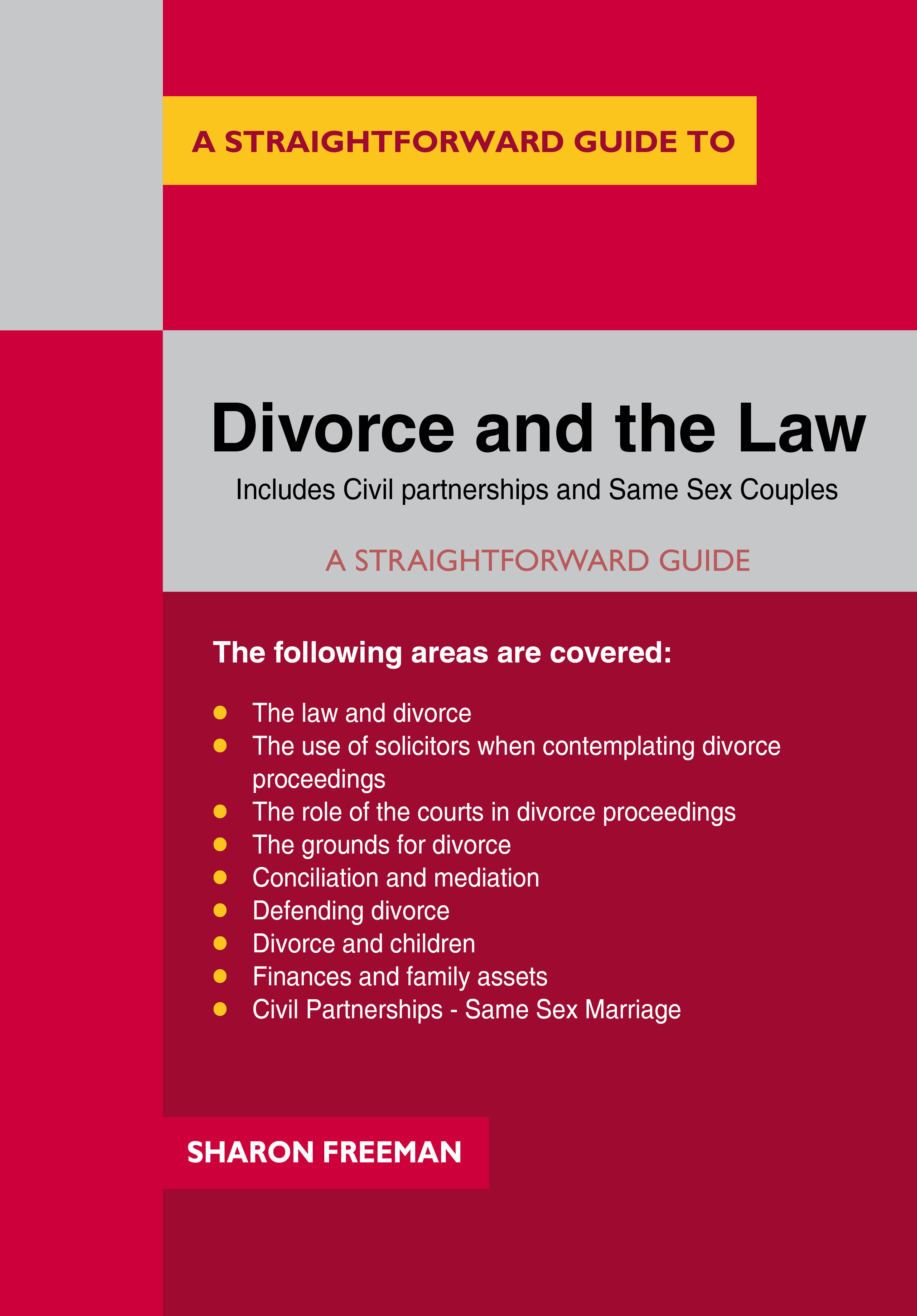 Divorce and the Law cover