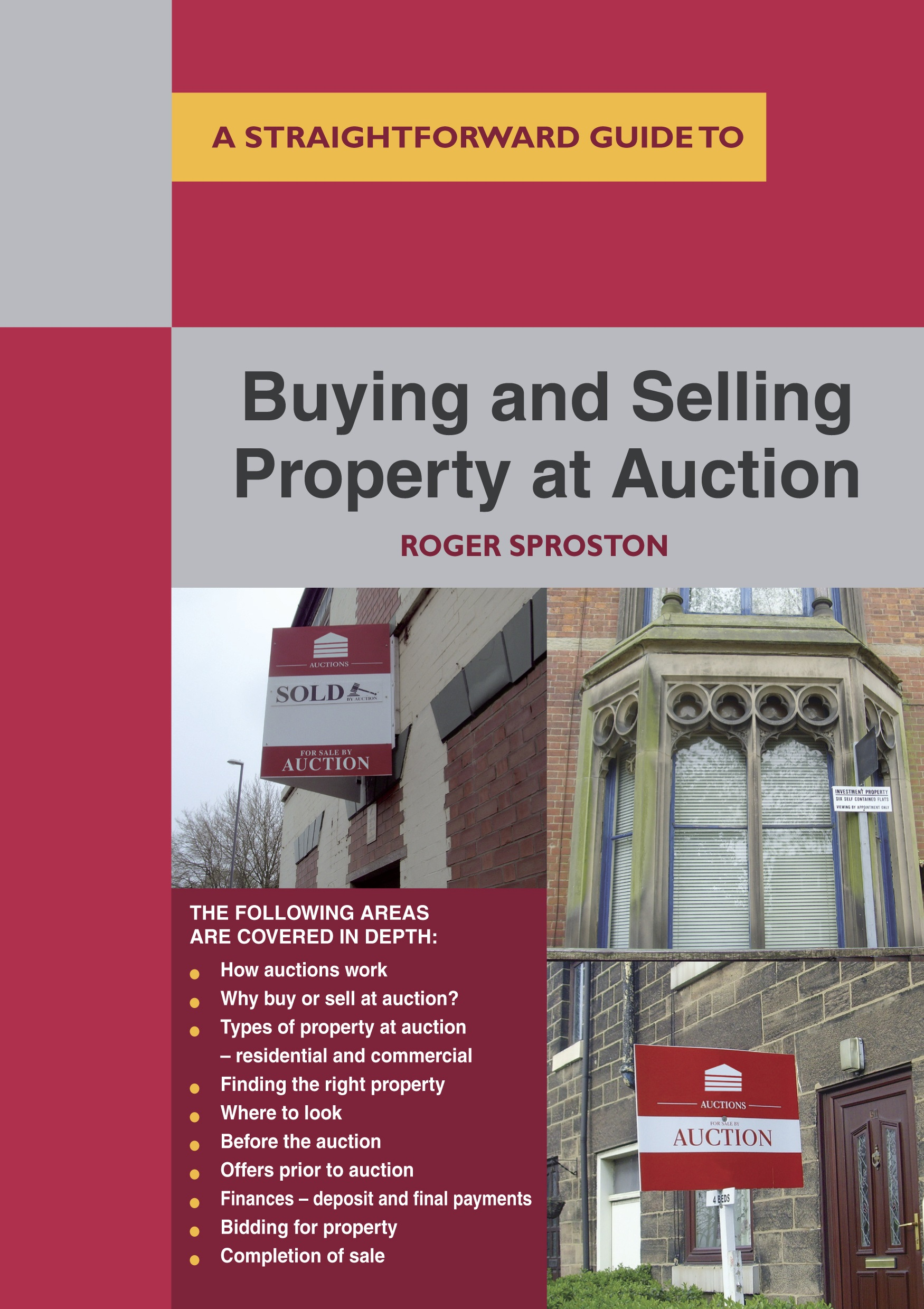 Buying and Selling Property at Auction book cover