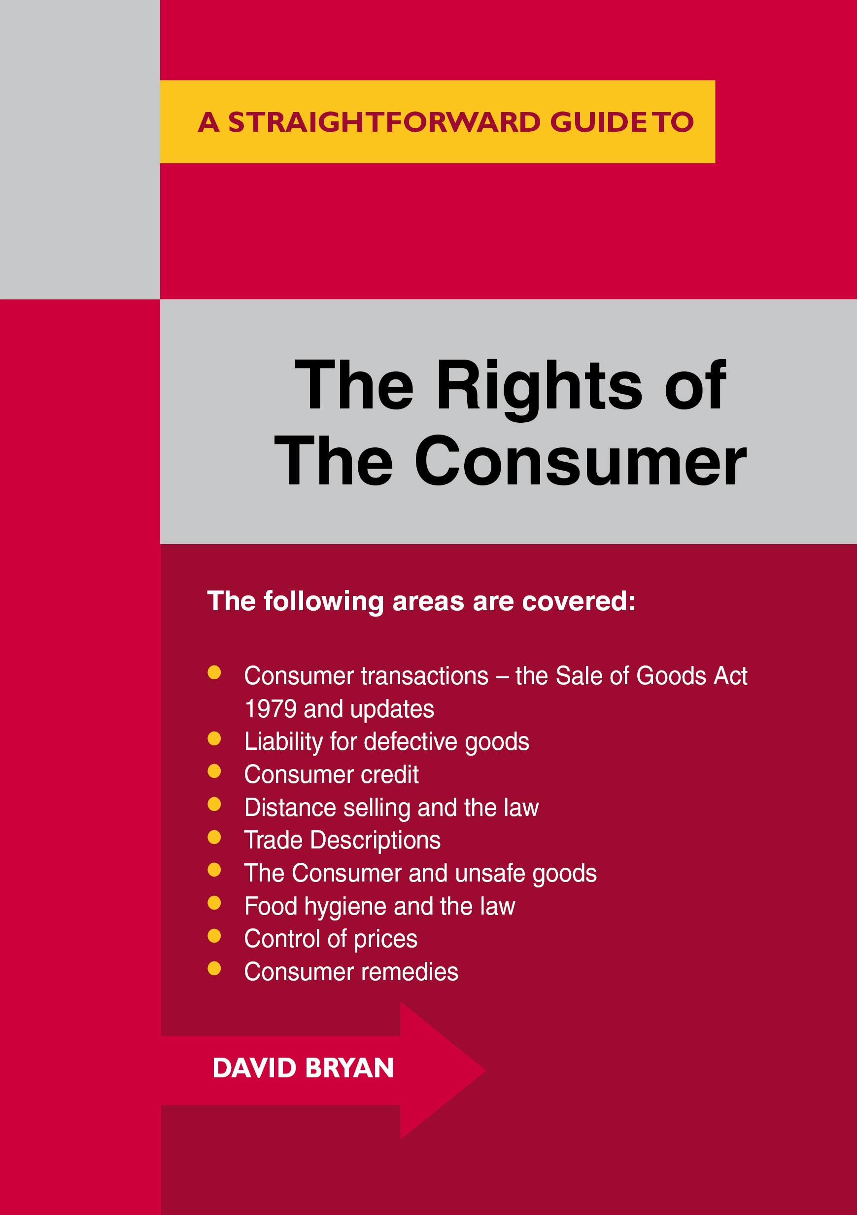 The Rights of the Consumer cover